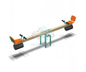 004100 - Качели балансирные деревянные