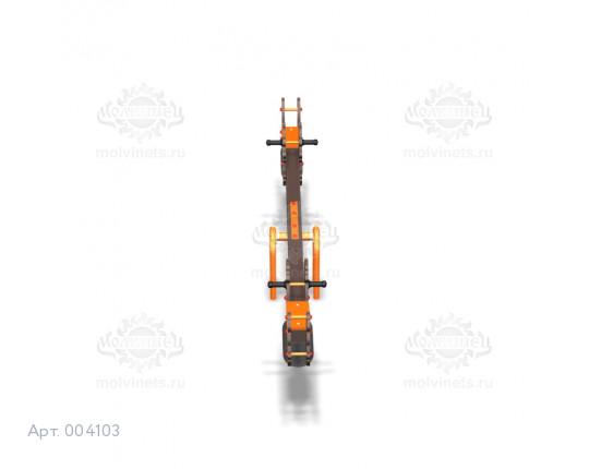 """004103 - Качели балансирные деревянные """"Драконы"""""""