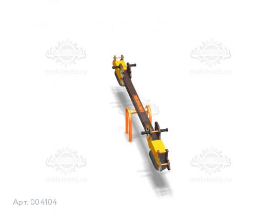 """004104 - Качели балансирные деревянные """"Бульдоги"""""""
