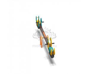 """004110 - Качели балансирные деревянные """"Весёлые Гуси"""""""