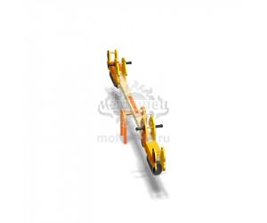 """004111 - Качели балансирные деревянные """"Рыцарские кони"""""""