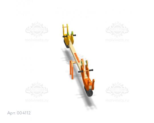 """004112 - Качели балансирные деревянные """"Перчики"""""""