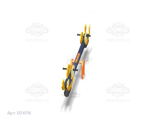 """004116 - Качели балансирные деревянные """"Кометы"""""""