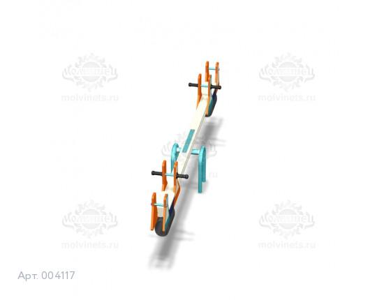 """004117 - Качели балансирные деревянные """"Колбочки"""""""