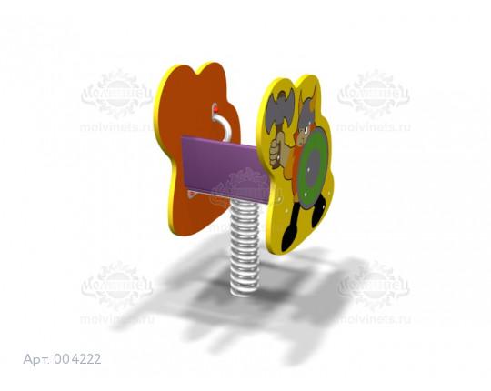 "004222 - Качалка на пружине ""Викинг"""
