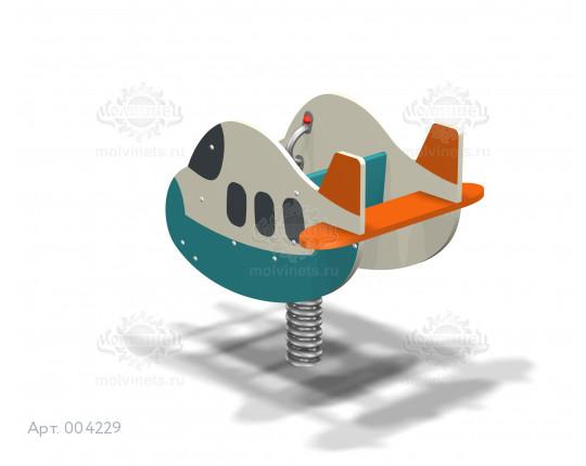 "004229 - Качалка на пружине ""Аэробус"""