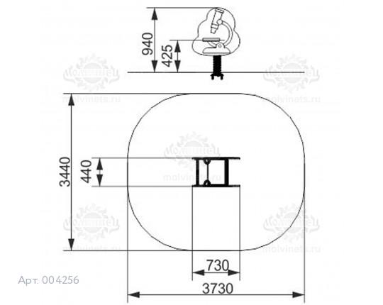 """004256 - Качалка на пружине """"Микроскоп"""""""