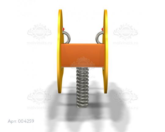 004259 - Качалка на пружине