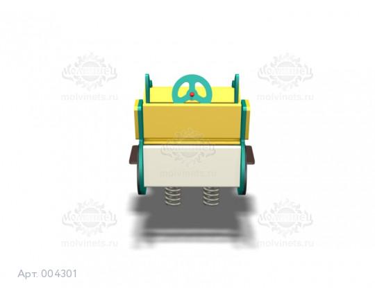 """004301 - Качалка на пружине двойная """"Бэтмобиль"""""""