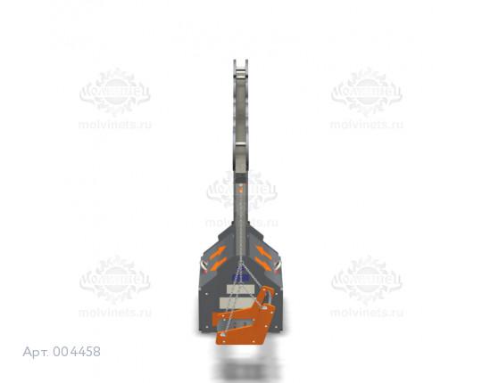 """004458 - Каркас качелей с ящиком для игрушек """"Робот"""" (под два подвеса)"""