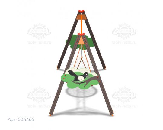 """004466 -  Каркас под качели-гнездо """"Сороки"""""""