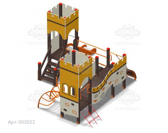 """005022 - Игровой комплекс """"Великая стена Мини"""""""