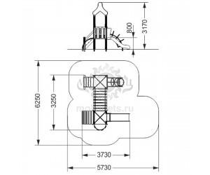 """005026 - Игровой комплекс """"Конструктор Мини"""""""