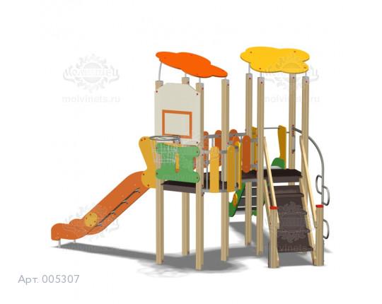 005307 - Игровой комплекс с баскетбольным кольцом