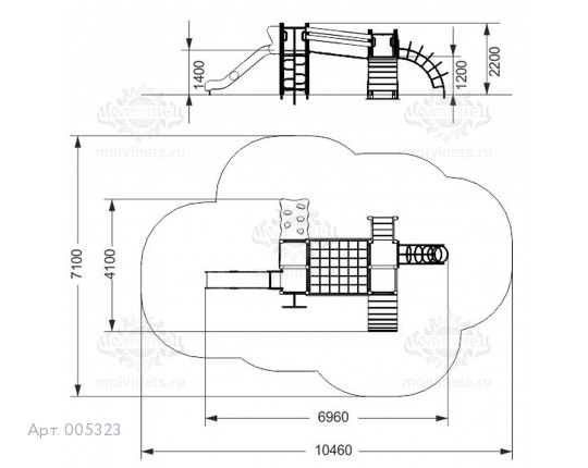 005323 - Игровой комплекс
