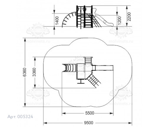 005324 - Игровой комплекс