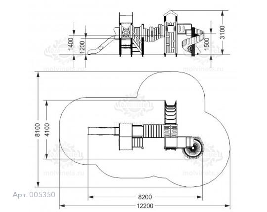 """005350 - Игровой комплекс """"Боргинг"""""""