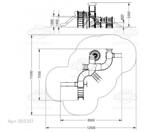 005351 - Игровой комплекс