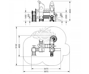 """005354 - Игровой комплекс """"Байконур"""""""