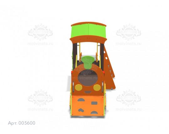 """005600 - Игровой комплекс """"Паровозик с горкой"""""""
