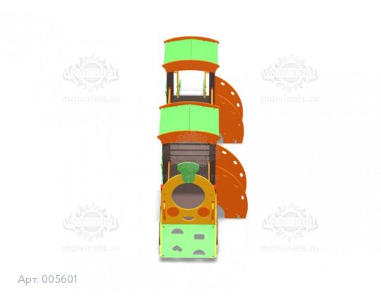 """005601 - Игровой комплекс """"Паровоз с вагончиком"""""""