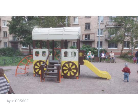"""005603 - Игровой комплекс """"Повозка переселенцев"""""""