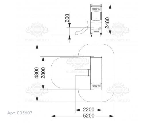 """005607 - Игровой комплекс """"Лондонский дабблдеккер"""""""