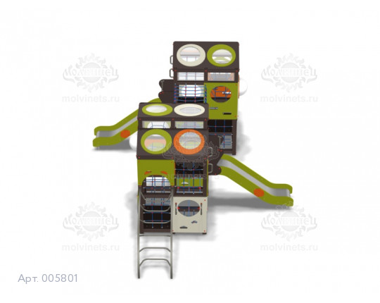 005801 - Игровая площадка лабиринт