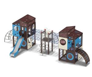 005802 - Детская площадка лабиринт