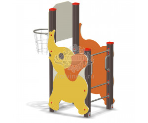 """006104 - Спортивный комплекс с баскетбольным кольцом """"Слонёнок"""""""