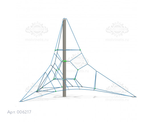 """006217 - Спортивный комплекс """"Пирамида малая"""""""