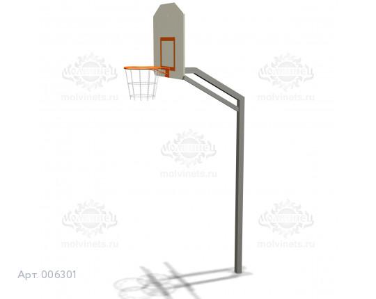 006301 - Баскетбольная стойка с сеткой