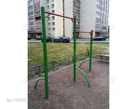 """006303 - Спортивный снаряд """"Турник двойной"""""""