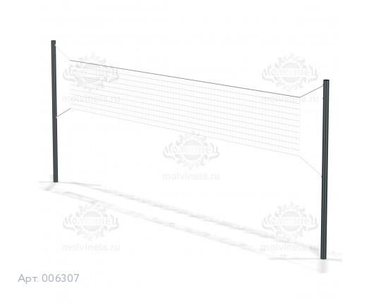 006307 - Волейбольные стойки с сеткой