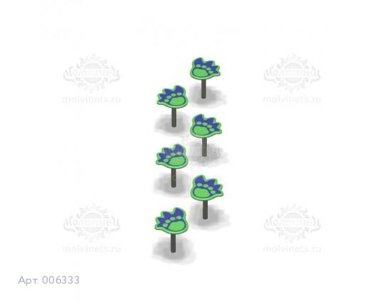 """006333 - Спортивный элемент """"Следы динозавра"""""""
