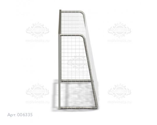 006335 - Ворота мини с сеткой для ДОУ