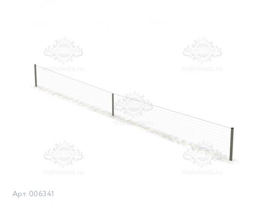 006341 - Стойки для теннисного корта с сеткой