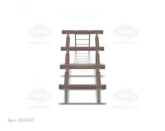 """006347 - Снаряд для ГТО """"Разрушенная лестница"""""""