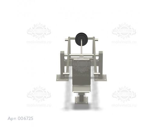 """006725 - Тренажер антивандальный 07.20 """"Трицепс с изменяемой нагрузкой"""""""
