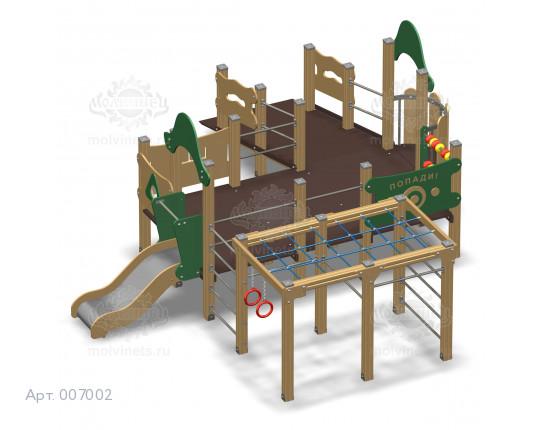 007002 - Игровой комплекс для детей с ограниченными физическими возможностями