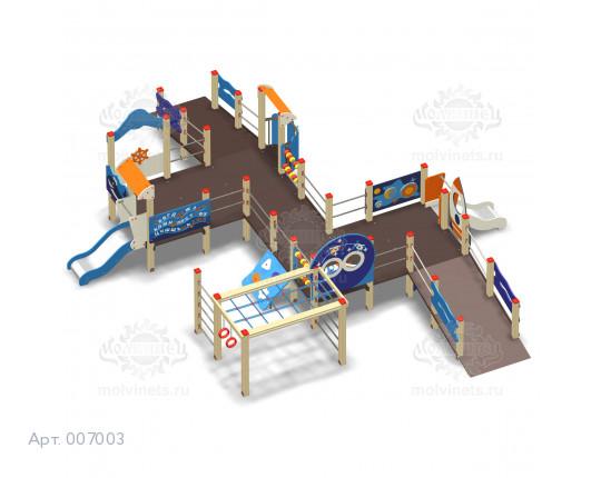 007003 - Игровой комплекс для детей с ограниченными физическими возможностями