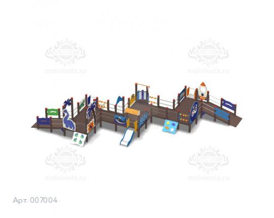 007004 - Игровой комплекс для детей с ограниченными физическими возможностями