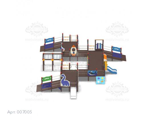 007005 - Игровой комплекс для детей с ограниченными физическими возможностями