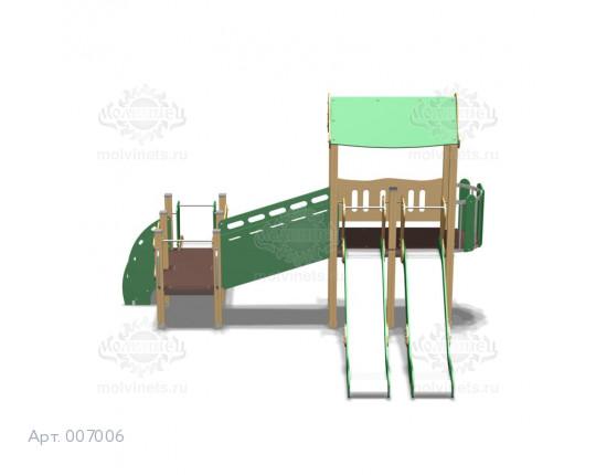 007006 - Игровой комплекс для детей с ограниченными физическими возможностями
