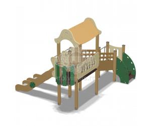 007007 - Горка двойная для детей с ограниченными физическими возможностями