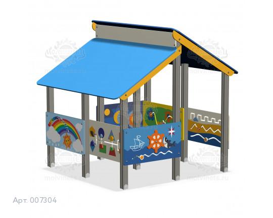 007304 - Домик для детей с ограниченными физическими возможностями
