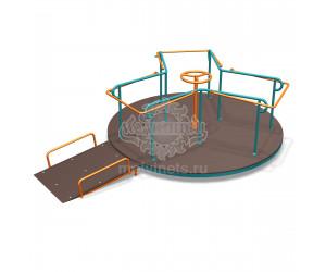 """007400 - Карусель для детей с ограниченными физическими возможностями """"Беседа"""""""