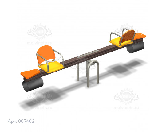 007402 - Качели балансирные для детей с ограниченными физическими возможностями