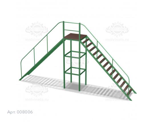 """008006 - Контактный снаряд для собак """"Сквозная лестница"""""""