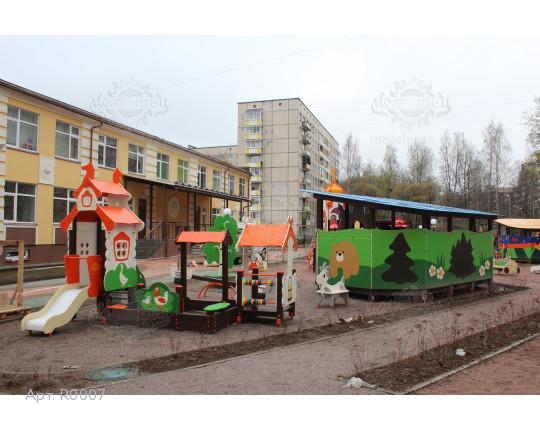 """R0007 - Тематическая площадка """"Россия"""" 144 м2"""